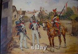 BEAUGARD dit THIL SOLDATS PREMIER EMPIRE NAPOLEON XIX MILITARIA MILITAIRE