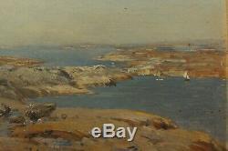 Bretagne 2 marines, Herman Alfred Leonard Wahlberg (1834-1906), Suède, Sweden