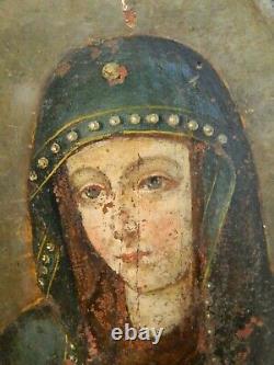 Buste de la Vierge, école hispano-flamande