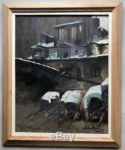 Claude FIRMIN (1864-1944)-Avignon-Provence-Paris l'auberge du cheval Blanc 1893