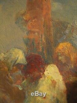 Descente de croix. Tableau de Gabriel Griffon (1866-1938) parfait état