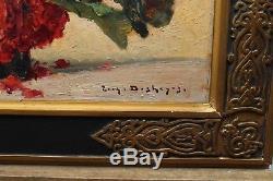 Deux bouquets de fleurs orientalistes, E Deshayes (1862-1938)