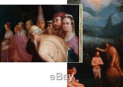 Ecole Flamande du 17 ème, Attribué à Cornelis CORNELISZ Van Haarlem 1562/1638