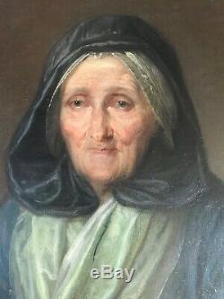Ecole Hollandaise du XVIIème siècle-Portrait de femme-Tableau ancien