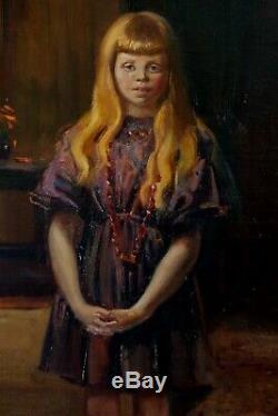 Edward Bainbridge Copnall, 1925, Bénézit Bien Coté! Etonnante Fillette
