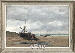 Emile Louis Vernier (1829-1887)-Normandie-Bretagne-Marie Jeanne-Paris-Concarneau