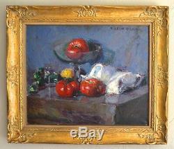 GARD Léon (1901-1979) Nature morte aux tomates Toulon Paris Marseille Provence
