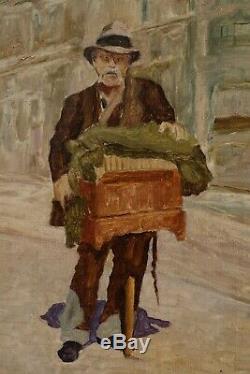 Gustave Peereboom, 1945, Le Joueur d'Orgue Rue Haute Bruxelles