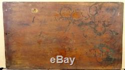 HSP vers 1860 Joli Paysage dans le goût de l'école de Barbizon A Restaurer