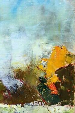 HST Tableau post impressionniste Jean-Paul Ulysse Vers Cléry en Vexin