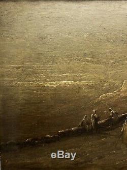 Huile sur Bois Orientaliste signée INOEL époque XIXe