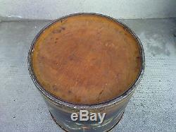 Huile sur panneau boite tabouret CIRCUS OPITZ cheval manege horse stool box oil