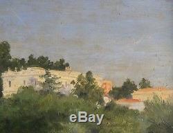 Hyères 1900, par Jean Van Marcke de Lummen (1875-1918)