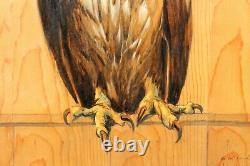 Jacques NAM, aigle, oiseau, tableau, animaux, Art Déco, Art Nouveau, Paul Jouve