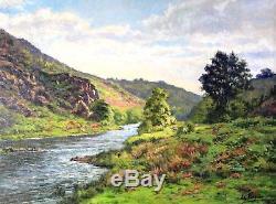 Jean-Georges PASQUET, Creuse, Anzème, Tableau, Crozant, peinture, paysage, école