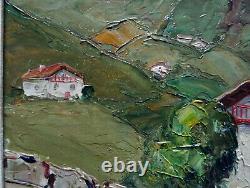 Jean-Roger Sourgen 1883-1979 Cafeteria à Sare Pays-Basque Landes Lizal, Helizaga