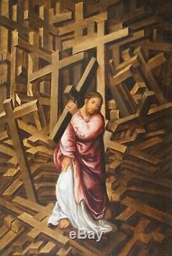 LELIO ORSI (1508-1587), Ec. CHRIST AUX MILLE CROIX