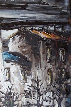 LEON SCHWARZ ABRYS 1905-1990 Peinture Impressionniste Ecole de Paris Montmartre