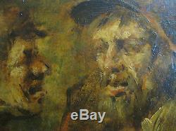 Leo Nyssen 1897-1945 / huile sur bois /