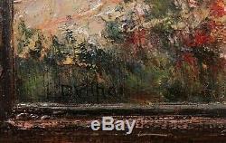 Léo VILHAR peintre slovène tableau huile Slovénie paysage Côte d'Azur Algérie