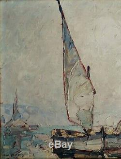 Louis Pastour HSP Sourire d'avril Cannes 1927 24 x 33