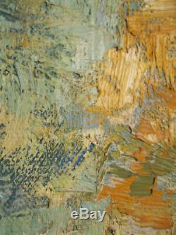Marcel Roll 1881-1927 / Huile sur toile / Sous-bois / signé / 33x41