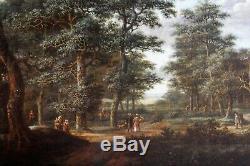 Meindert Hobbema, paysage, Hollande, tableau, peinture, Pays-Bas, Ruisdael