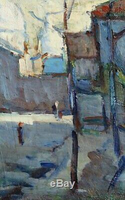 Montmartre, Paris, tableau, peinture, Utrillo, Ecole de Paris, Vlaminck