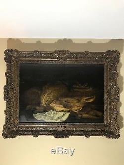 Nature Morte Hollandaise Huile Sur Bois, époque XVIIe