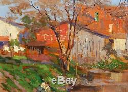 Osvaldo PINHEIRO, tableau, peinture, Brésil, Portugal, paysage, impressionisme