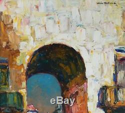 PASTOUR Louis (1876-1948) La Porte du Soleil Nice Provence Saleya Cannes Paris