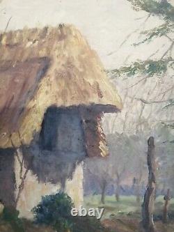 Paire tableaux peinture à l'huile sur bois 1900, Saint Saëns, célèbre pianiste