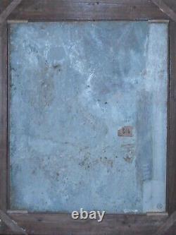 Paris, Montmartre, Sacré Coeur, 1955. Tableau de Georges Filiberti (1881-1970)