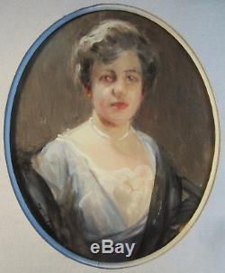 Paul Chabas Peintre Portrait Femme Elegante Tableau Francais Art
