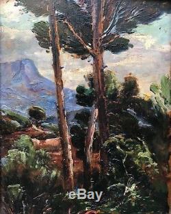 Paul Levéré (1875-1949)-Toulon-Var-Provence-Nice-Marseille-Le Mont Coudon-TOULON