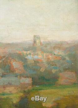 Paysage Peinture impressionniste fin du 19e siècle impressionnisme