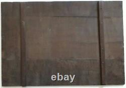 Peinture ancienne 1860 Scène Paysanne Barbizon Huile/bois proche Rousseau Millet