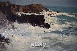 Pendant Marine Paysage Post Impressionniste XX