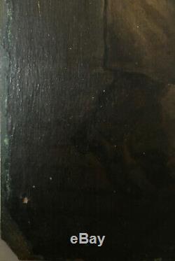 Pendant de tableaux Marché de nuit cf. Andreas Franciscus Vermeulen (1821-1884)