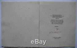 Piaubert Jean Huile Sablée Sur Bois 1994 Signée Handsigned Oil On Wood Testament