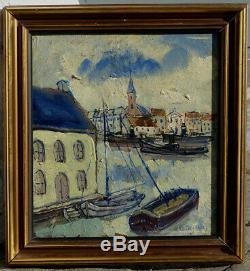 Pierre Bayaux, 1920, Petit Port, Fauvisme Brabançon, Résultat Jusque 8200