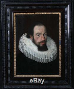 Pieter van Mierevelt 1596/1623, Paire de portraits, Ecole Hollandaise 17ème