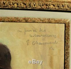 Portrait AUGUSTE ESCOFFIER par Emile CHAUMONT 1877 1927 Prince des Restaurateurs