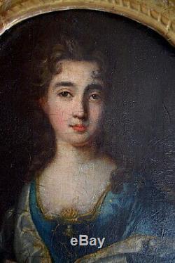 Portrait Historique Marie Eléonore d'Este Reine d'Angleterre XVIII