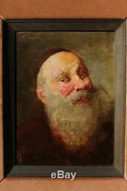 Portrait de moine souriant, Bernard Louis Borione (1865-)