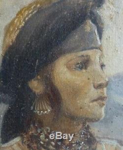 Portrait orientalistede Kurde par Georges C. MICHELET 1873