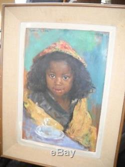 Raymond tellier petite fille malgache 38 / 56 hors cadre