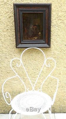 Ris-paquot 1835. L'alchimiste. Très Rare & Unique Tableau Connu Du Peintre
