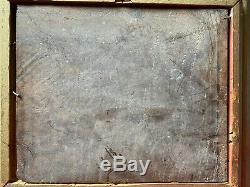 SUPERBE Huile sur panneau de bois de CASILE, faisant paire avec une autre huile