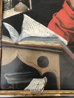 Saint Jérôme dans sa cellule, Inspiration Durer, 17ème siècle